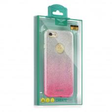 Калъф KAKU OMBRE - Apple iPhone 6 розов