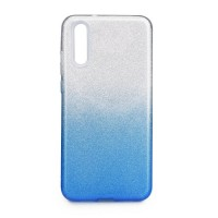 Гръб Forcell SHINING - Huawei P20 Pro прозрачен-син