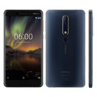 Nokia 6.1 64GB 2nd Generation 2018 Dual Sim Blue/Gold