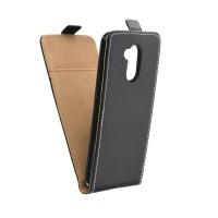 Калъф тефтер Slim Flexi Fresh - Huawei Honor 6A черен