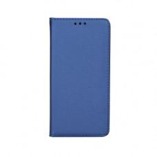 Калъф Smart Book - LG Q7 тъмно син