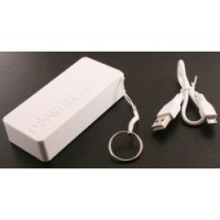 Power Bank 5600mAh PENDANT Fun White