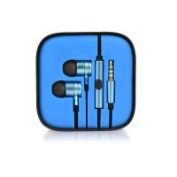 Слушалки HF Stereo box metal MI - Huawei P Smart сини