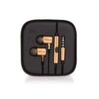 Слушалки HF Stereo box metal MI - Huawei P Smart златни