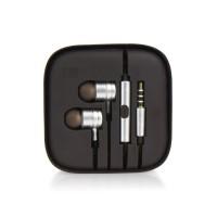Слушалки HF Stereo box metal MI - Huawei P Smart сребристи