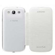 Оригинален калъф Flip Cover за Samsung I9300 Galaxy S3 бял