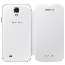 Оригинален калъф Flip Cover за Samsung I9500 Galaxy S4 бял