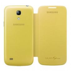Оригинален калъф Flip Cover за Samsung I9195 Galaxy S4 mini жълт