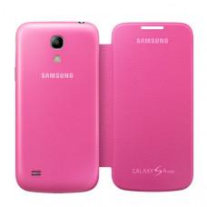 Оригинален калъф Flip Cover за Samsung I9195 Galaxy S4 mini розов
