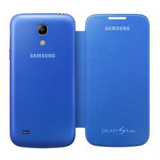 Оригинален калъф Flip Cover за Samsung I9195 Galaxy S4 mini син