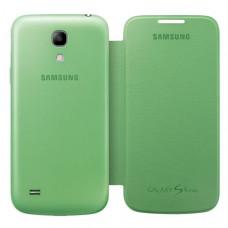 Оригинален калъф Flip Cover за Samsung I9195 Galaxy S4 mini зелен
