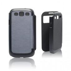Калъф Flip Cover за Samsung I9505 Galaxy S4 син