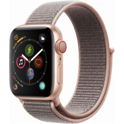 Apple Watch Series 4 GPS+Cellular 40mm Gold Aluminium Case with Pink Sand Sport Loop