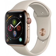 Apple Watch Series 4 GPS+Cellular 40mm Gold Stainless Steel Case with Stone Sport Band