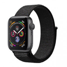 Apple Watch Series 4 GPS+Cellular 40mm Space Grey Aluminium Case with Black Sport Loop