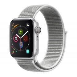Apple Watch Series 4 GPS+Cellular 40mm Silver Aluminium Case with Seashell Sport Loop