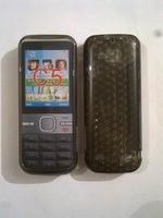 Силиконов калъф-гръб за Nokia C5