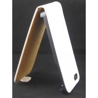 Калъф Flip за HTC One mini бял