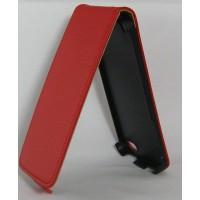 Калъф Flip за HTC One mini червен