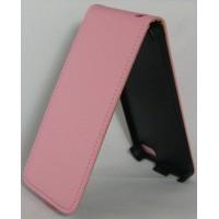 Калъф Flip за HTC One mini розов