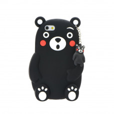 3D Гръб черна мечка - Samsung Galaxy A3 2017