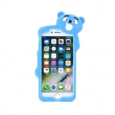 3D Гръб синя мечка - Samsung Galaxy A3 2017