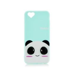 3D Гръб синя панда - Apple iPhone 7