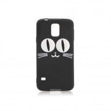 3D Гръб черна котка - Huawei P8 Lite