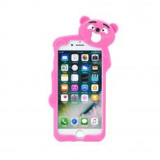 3D Гръб розова мечка - Huawei P9 Lite