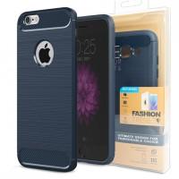 Гръб FORCELL CARBON за Apple iPhone 8 тъмно син