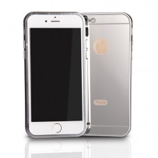 Калъф Bumper Mirror за Apple iPhone 6 сребрист