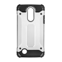 Калъф Forcell Armor - LG K8 2017 сребрист