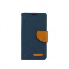 Калъф Canvas Book Apple iPhone 6 тъмно син