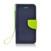 Калъф Fancy Book - Nokia 7 Plus тъмно син