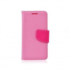 Калъф Fancy Book - Samsung Galaxy S7 Edge светло розов
