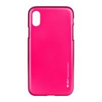 Гръб i-Jelly Case за Apple iPhone X тъмно розов