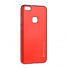 Гръб i-Jelly Case за Huawei P9 Lite 2017 червен