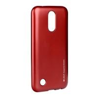Гръб i-Jelly Case за LG K10 2017 червен