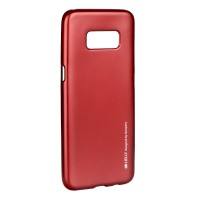 Гръб i-Jelly Case за Samsung Galaxy S8 Plus червен