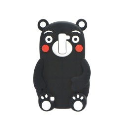 3D Гръб черна мечка - Samsung Galaxy J5