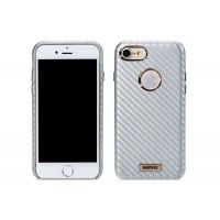 Гръб Remax Carbon за Apple iPhone 7 сребърен