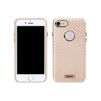 Гръб Remax Carbon за Apple iPhone 7 златен