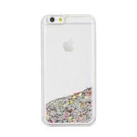 Гръб Sand Case за Apple iPhone SE сребрист