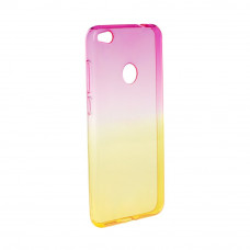 Гръб FORCELL OMBRE за Huawei P9 Lite Mini розов-златен