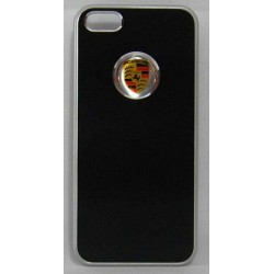 PVC-пластмасов калъф за Apple iPhone 5 черен Porsche