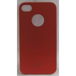 PVC-пластмасов калъф за Apple iPhone 5 червен