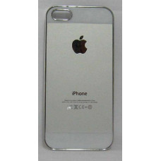 PVC-пластмасов калъф за Apple iPhone 5 универсален бял