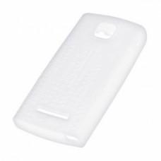 Силиконов калъф-гръб за Nokia C2-01 бял