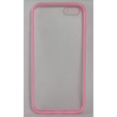 Силиконов калъф-гръб за Apple iPhone 5 розов