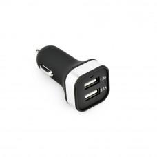 Зарядно устройство за кола (2xUSB) черно  - Nokia 8